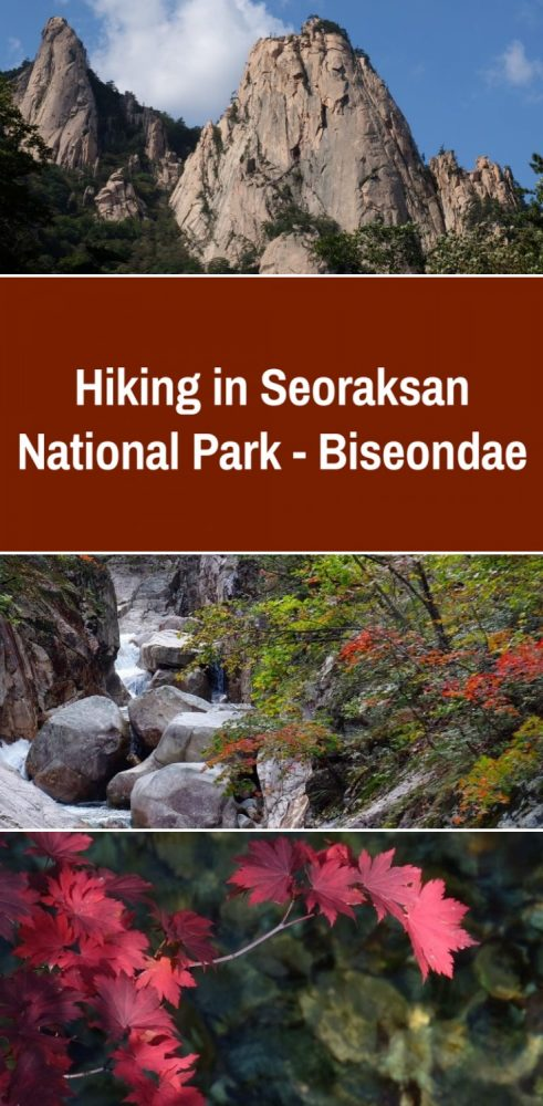 hiking in seoraksan national park biseondae south korea 491x1000 - Hiking in Seoraksan National Park - Biseondae