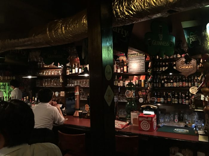 jha bar tokyo japan 700x525 - A layover in Tokyo from Haneda Airport - sushi, arcades, & beer in Akihabara