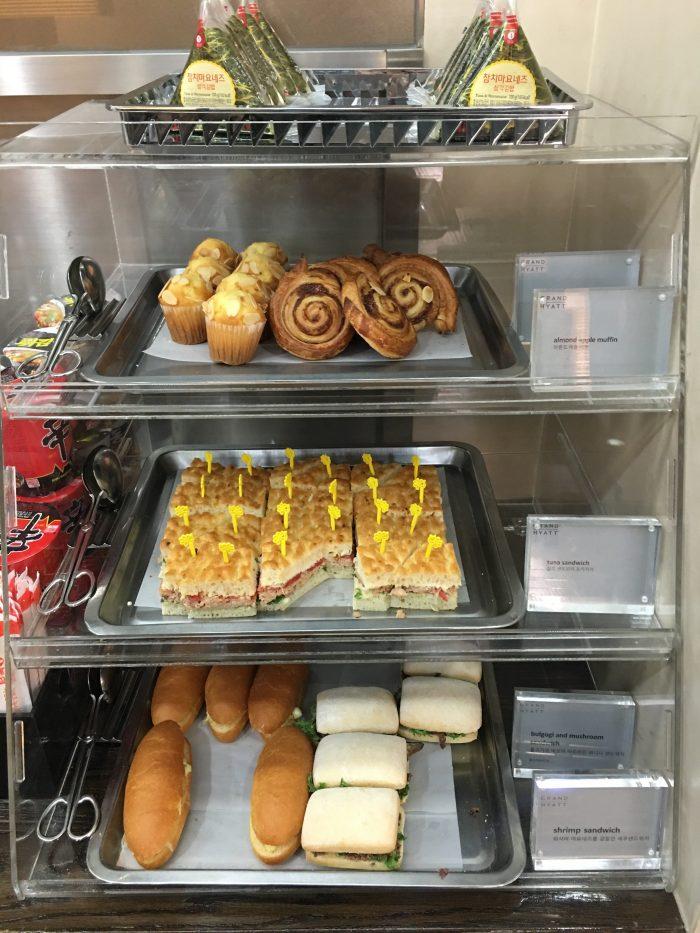 kal lounge seoul gimpo sandwiches 700x933 - KAL Lounge Seoul Gimpo GMP review