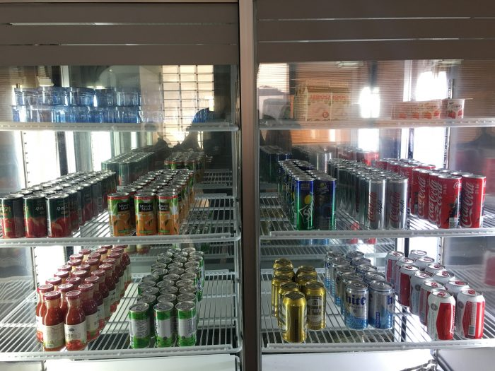 kal lounge seoul gimpo soda drinks 700x525 - KAL Lounge Seoul Gimpo GMP review