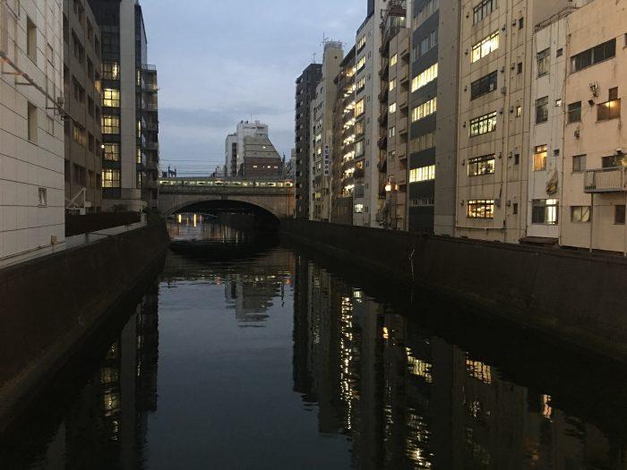 kanda river 700x525 - A layover in Tokyo from Haneda Airport - sushi, arcades, & beer in Akihabara