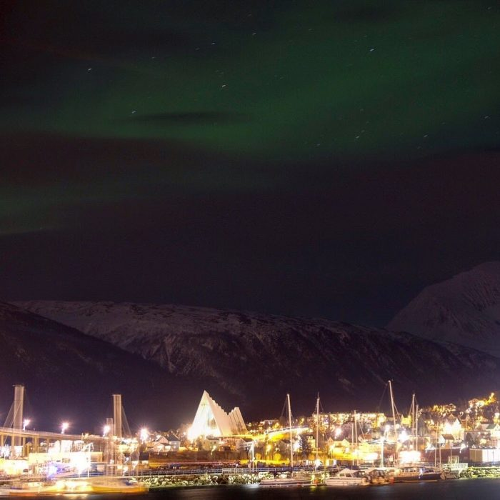 northern lights in tromso 700x700 - Top things to do during the Polar Night in Tromsø, Norway