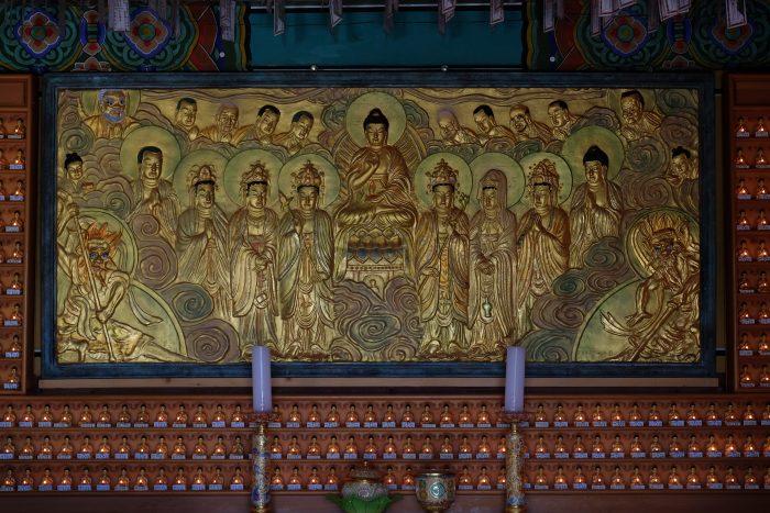 seokguram grotto art 700x467 - A day trip from Busan to Gyeongju, South Korea