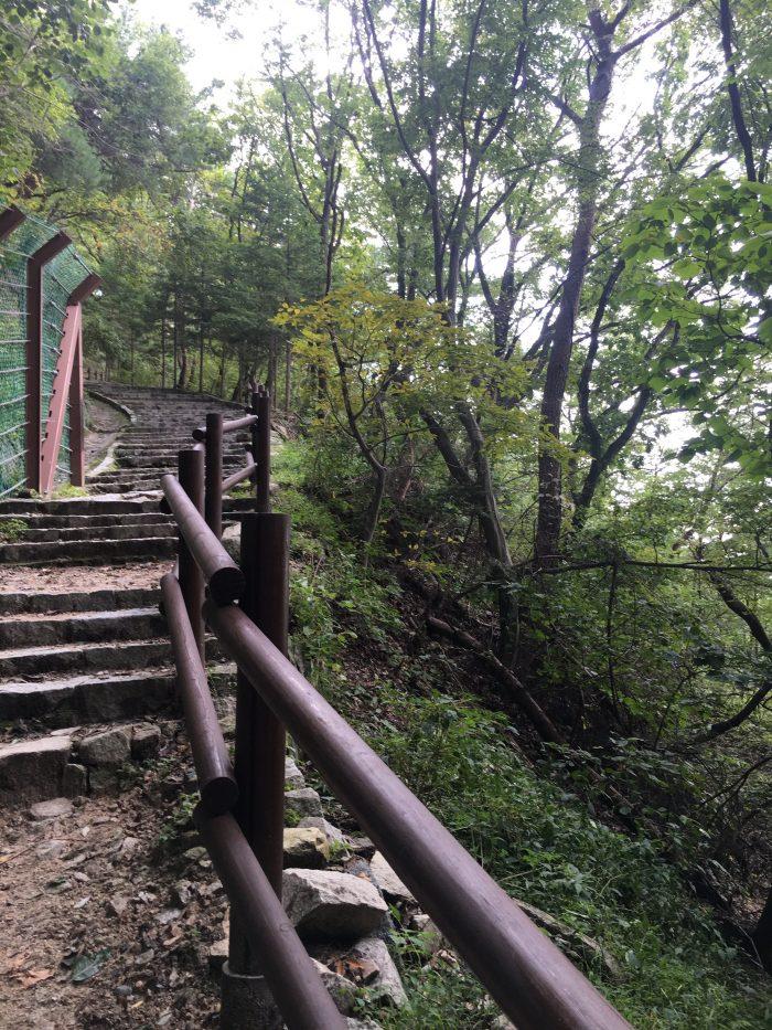 seokguram grotto hike stairs 700x933 - A day trip from Busan to Gyeongju, South Korea