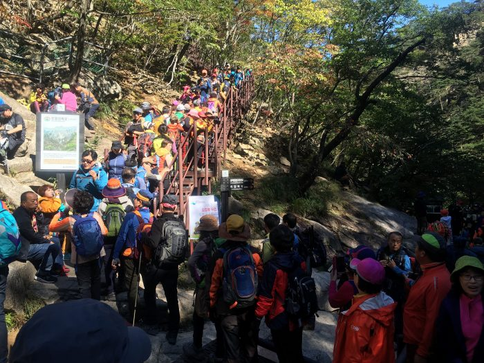 towangseong falls hike 700x525 - Hiking in Seoraksan National Park - Biryong, Yukdam, & Towangseong Falls
