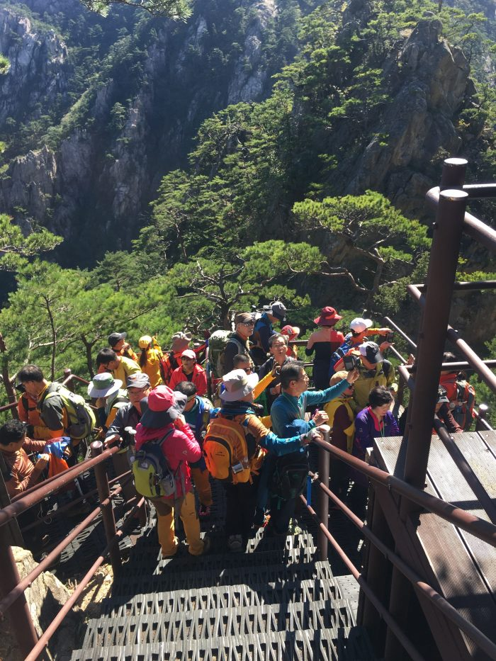 towangseong falls viewpoint 700x933 - Hiking in Seoraksan National Park - Biryong, Yukdam, & Towangseong Falls