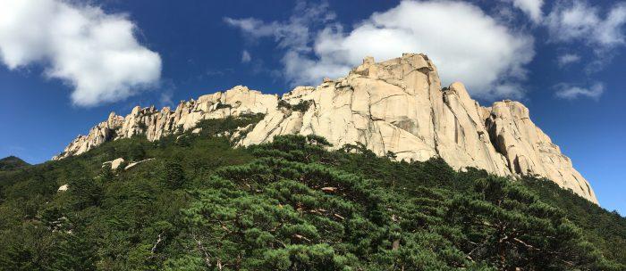 ulsanbawi 700x304 - Hiking in Seoraksan National Park - Heundeulbawi Rock, Gyejoam Grotto, & Ulsanbawi Rock