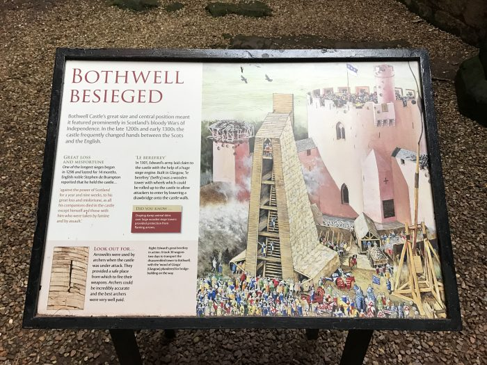 bothwell castle wars of independence 700x525 - A day trip from Glasgow to Bothwell Castle