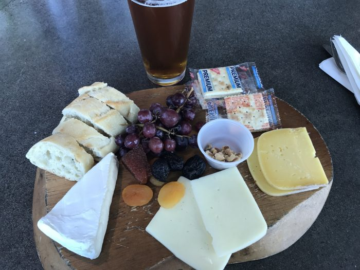 capers cafe le bar cheese platter 700x525 - Capers Cafe Le Bar Portland PDX Priority Pass review