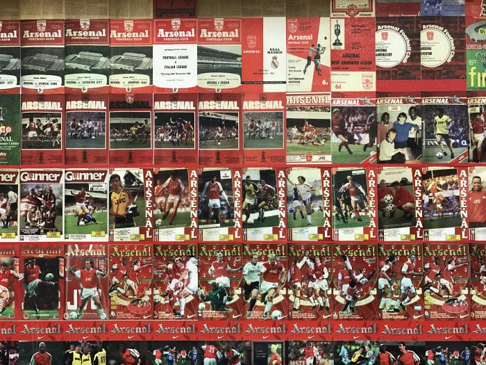 arsenal magazine wall emirates stadium 700x525 - Attending an Arsenal match at Emirates Stadium