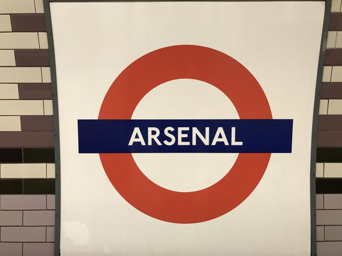 arsenal tube station 700x525 - Attending an Arsenal match at Emirates Stadium