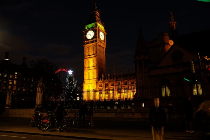 big ben christmas 700x467 - The top things to do during Christmas & New Year's in London