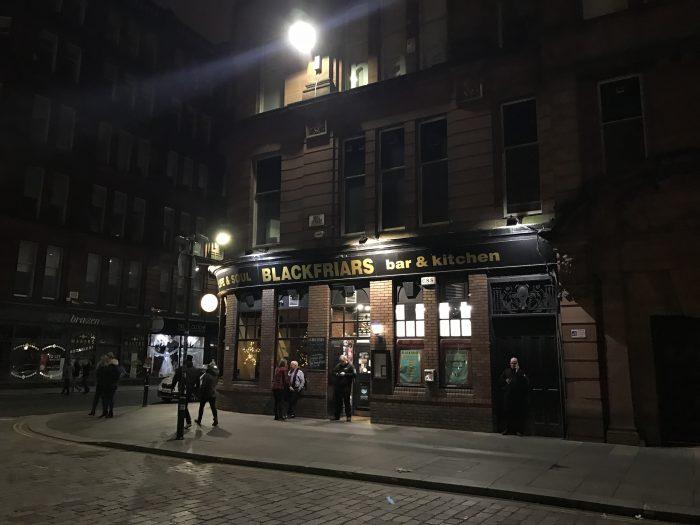 blackfriars glasgow 700x525 - The best craft beer in Glasgow, Scotland