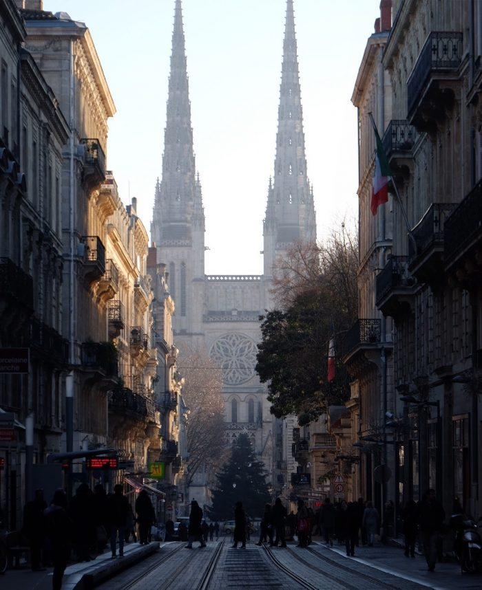 bordeaux cathedral spires 700x858 - A walking tour of historic Bordeaux & The Port of the Moon