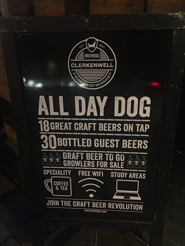 brewdog clerkenwell 700x933 - The best craft beer in Central London, England