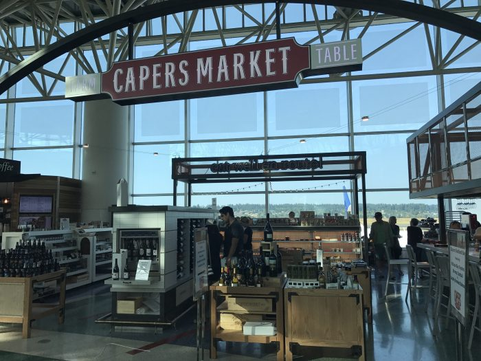 capers market portland priority pass 700x525 - Capers Market Portland PDX Priority Pass review