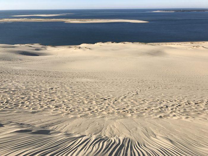 dune du pilat atlantic ocean 700x525 - A day trip from Bordeaux to Dune du Pilat & Arcachon