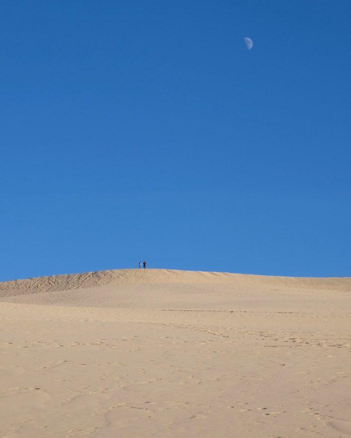 dune du pilat moon 700x874 - A day trip from Bordeaux to Dune du Pilat & Arcachon