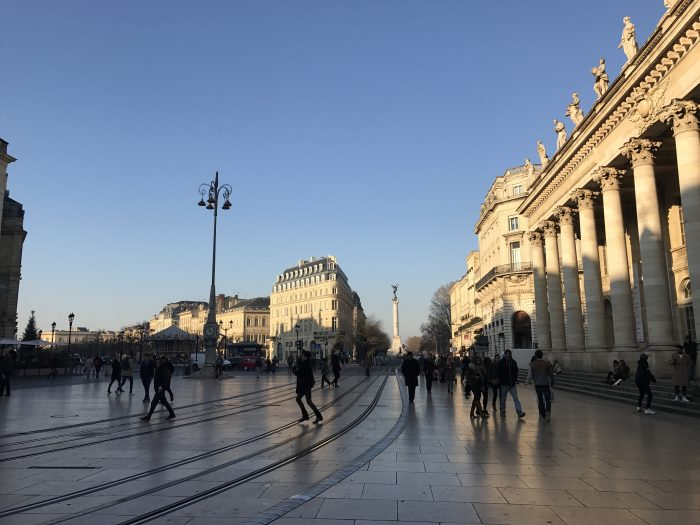 grand theater bordeaux 700x525 - A walking tour of historic Bordeaux & The Port of the Moon