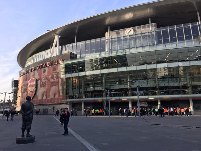 herbert chapman statue emirates stadium 700x525 - Attending an Arsenal match at Emirates Stadium