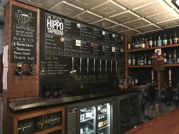hippo tap room glasgow 700x525 - The best craft beer in Glasgow, Scotland