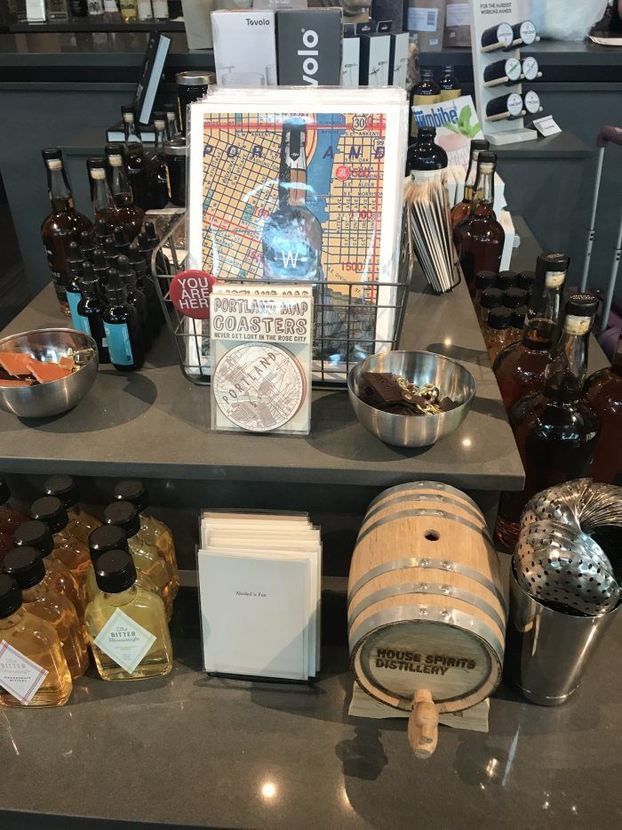 house spirits distillery pdx gifts 700x933 - House Spirits Distillery Portland PDX Priority Pass review