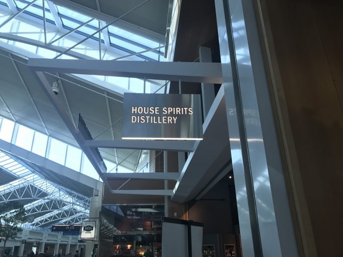 house spirits distillery portland airport 700x525 - House Spirits Distillery Portland PDX Priority Pass review