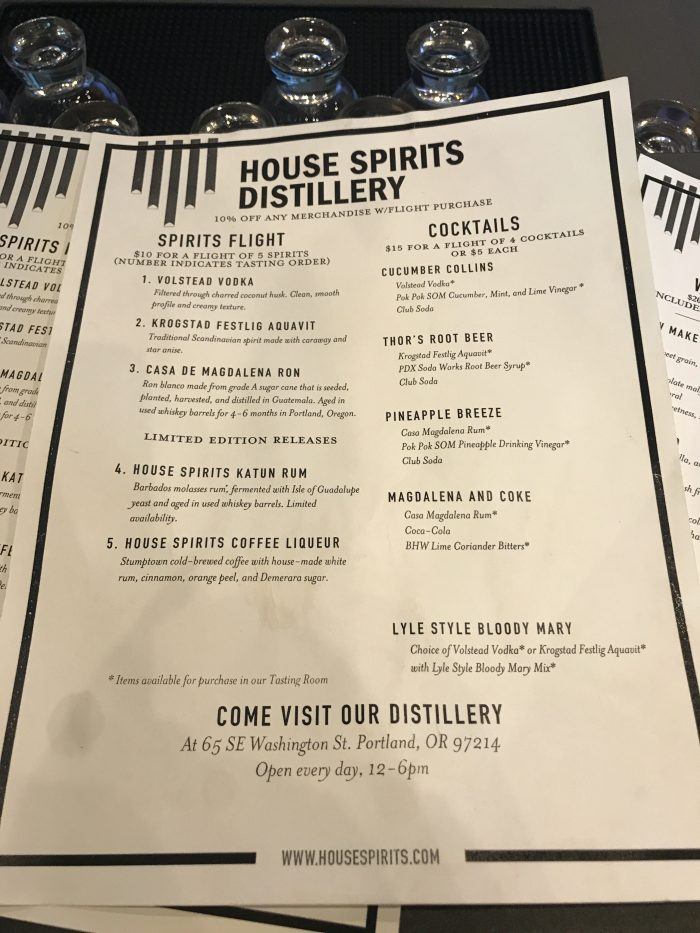 house spirits distillery spirits flight cocktails 700x933 - House Spirits Distillery Portland PDX Priority Pass review