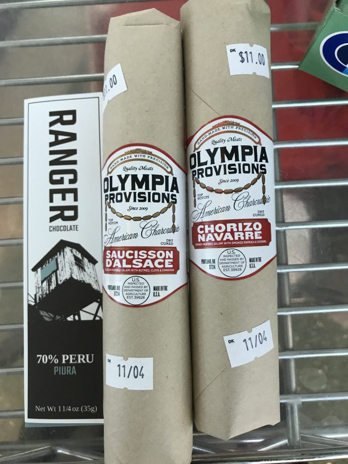olympia provisions ranger chocolate capers market pdx 700x933 - Capers Market Portland PDX Priority Pass review