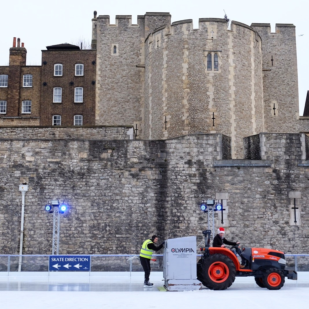 skating rink tower of london christmas new year - Travel Contests: July 29th, 2020 - London, Costa Rica, Fiji, & more