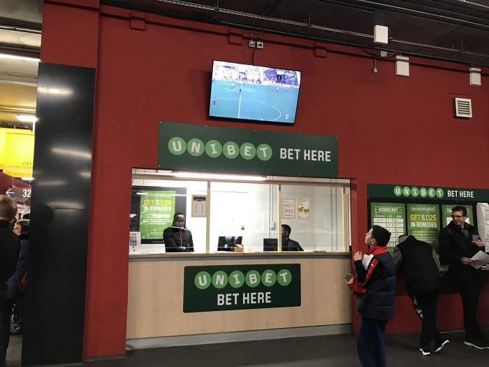 unibet betting window emirates stadium 700x525 - Attending an Arsenal match at Emirates Stadium