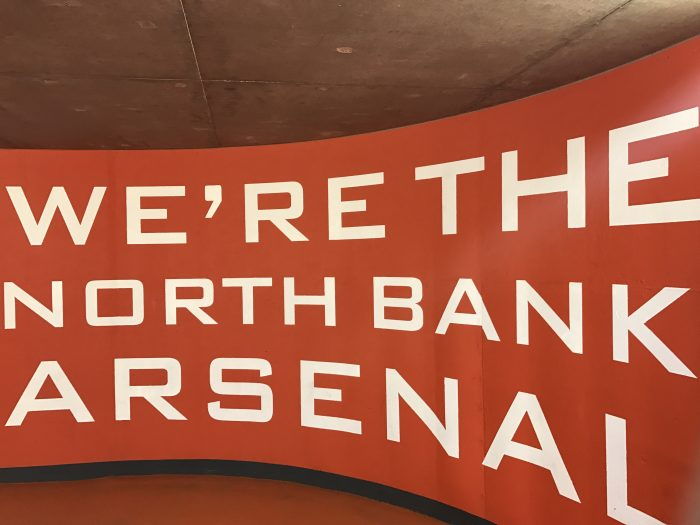 were the north bank arsenal 700x525 - Attending an Arsenal match at Emirates Stadium