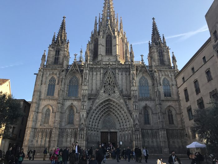 barcelona cathedral 700x525 - The top 10 things to do in the Gothic Quarter of Barcelona