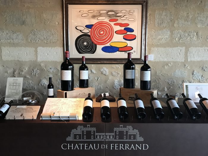 chateau de ferrand winery 700x525 - A wine tasting tour of Bordeaux including Saint Emilion, Chateau de Sales, & Chateau de Ferrand
