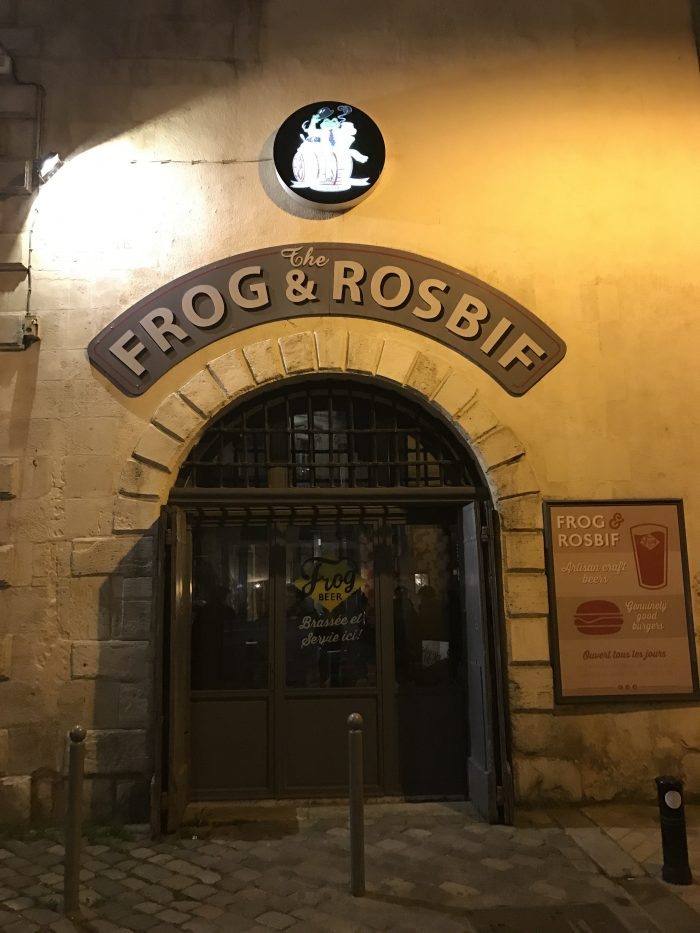 frog and rosbif bordeaux 700x933 - The best craft beer in Bordeaux, France