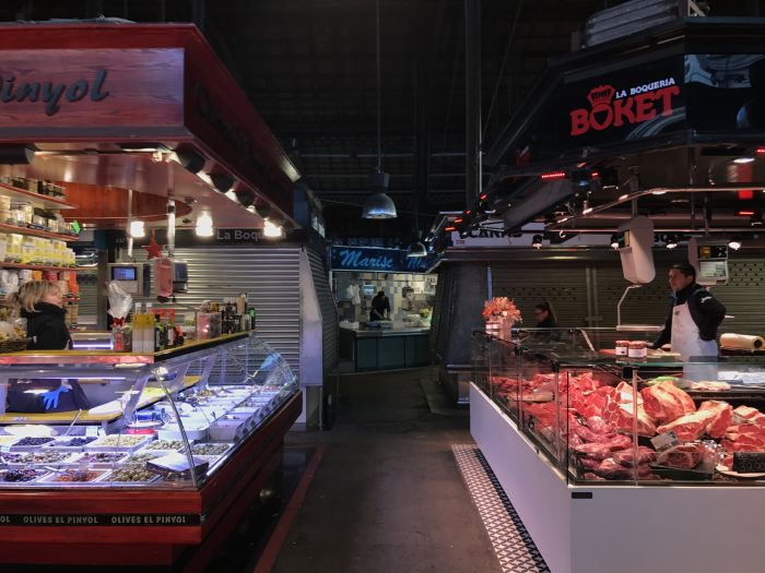 la boqueria market barcelona 700x525 - The top 10 things to do in the Gothic Quarter of Barcelona