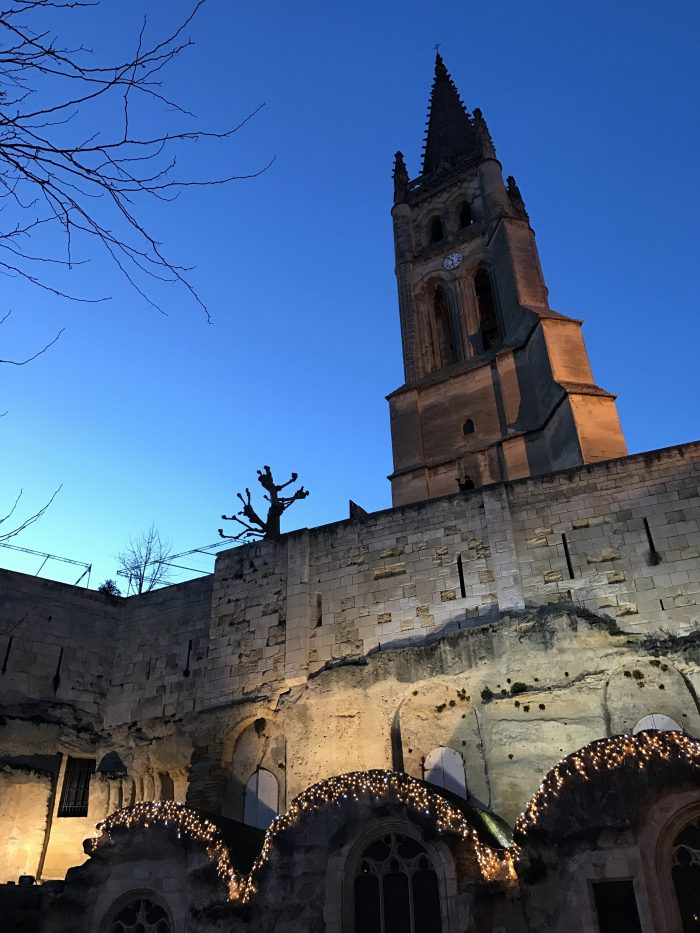 monolithic church saint emilion 700x933 - A wine tasting tour of Bordeaux including Saint Emilion, Chateau de Sales, & Chateau de Ferrand