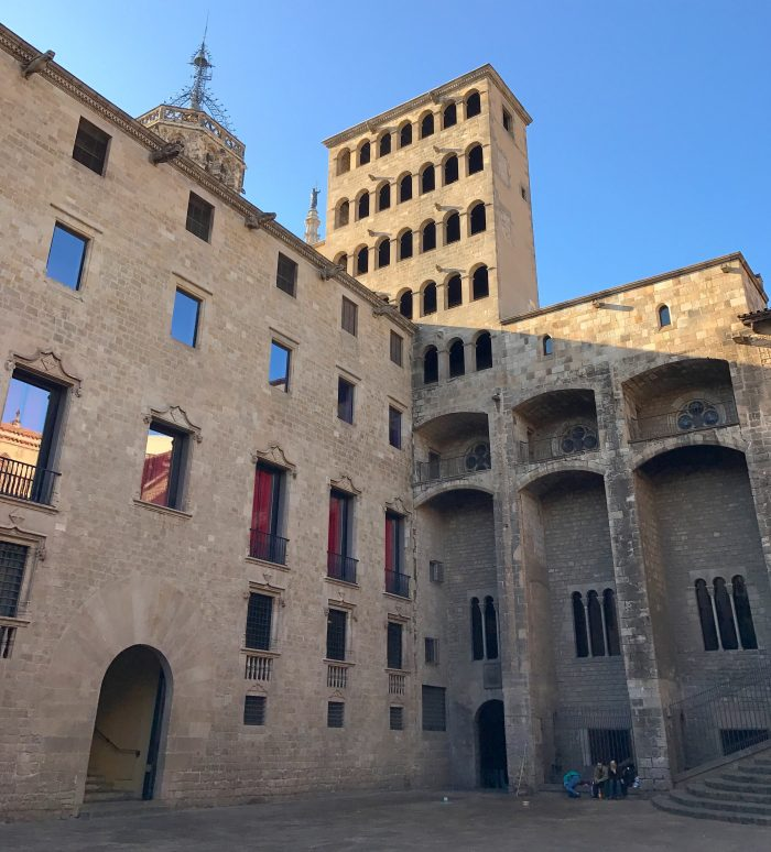 plaza del rey gothic quarter barcelona 700x774 - A trip to Tromso, London, Glasgow, Bordeaux, & Barcelona - Introduction