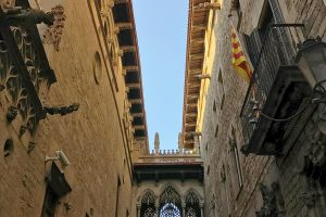 pont del bisbe barcelona 300x200 - The top 10 things to do in the Gothic Quarter of Barcelona