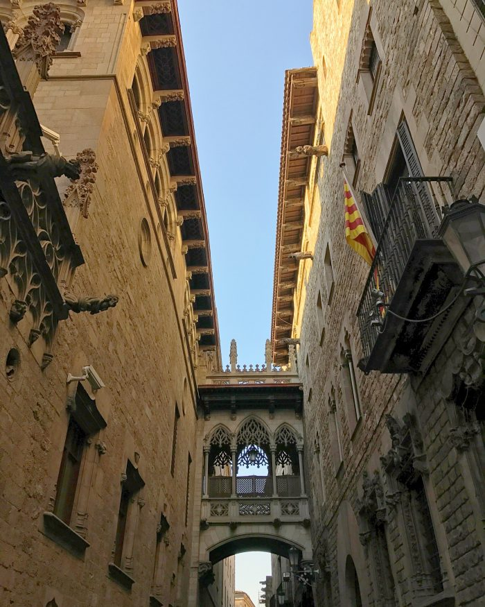 pont del bisbe barcelona 700x875 - The top 10 things to do in the Gothic Quarter of Barcelona