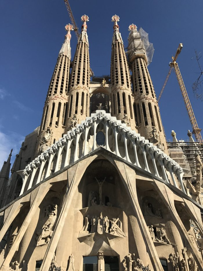sagrada familia 700x933 - A visit to the Sagrada Familia in Barcelona, Spain
