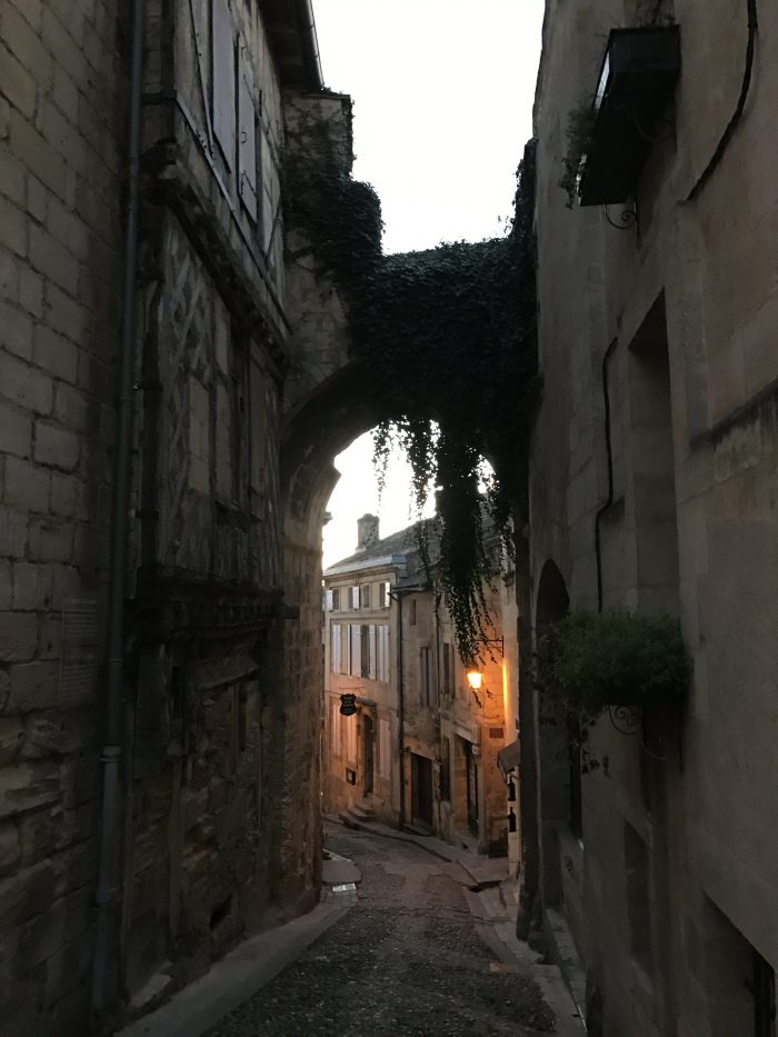 saint emilion streets 700x933 - A wine tasting tour of Bordeaux including Saint Emilion, Chateau de Sales, & Chateau de Ferrand
