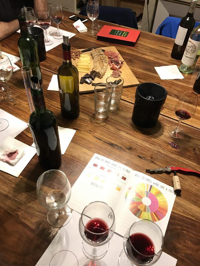 wine tasting workshop bordeaux 700x933 - A wine tasting tour of Bordeaux including Saint Emilion, Chateau de Sales, & Chateau de Ferrand