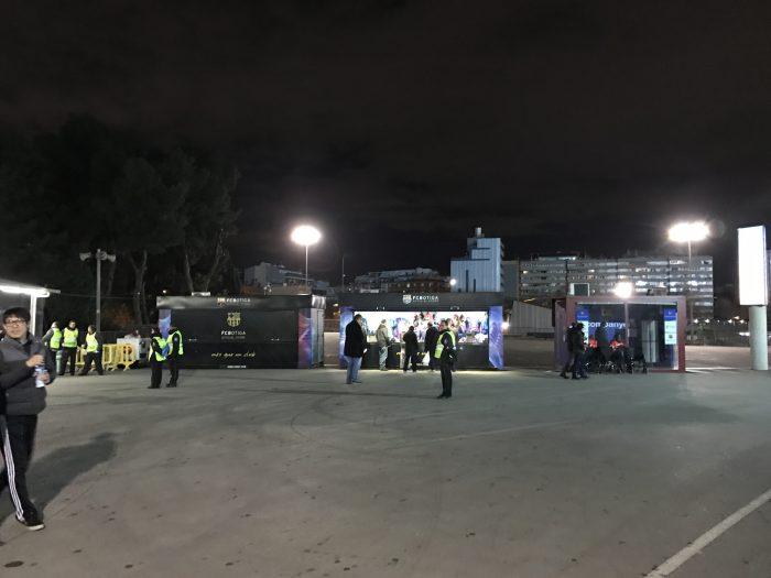 attending a barcelona match at camp nou souvenir stands 700x525 - Attending an FC Barcelona match at Camp Nou