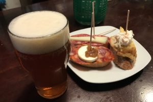 beer pintxos barcelona 300x200 - The best craft beer in Barcelona, Spain