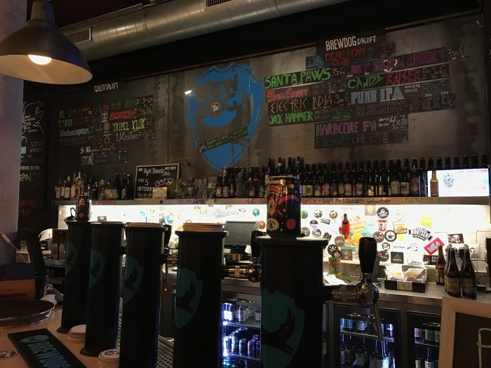 craft beer barcelona brewdog 700x525 - The best craft beer in Barcelona, Spain
