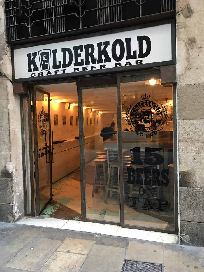 craft beer barcelona kaelderkold 700x933 - The best craft beer in Barcelona, Spain