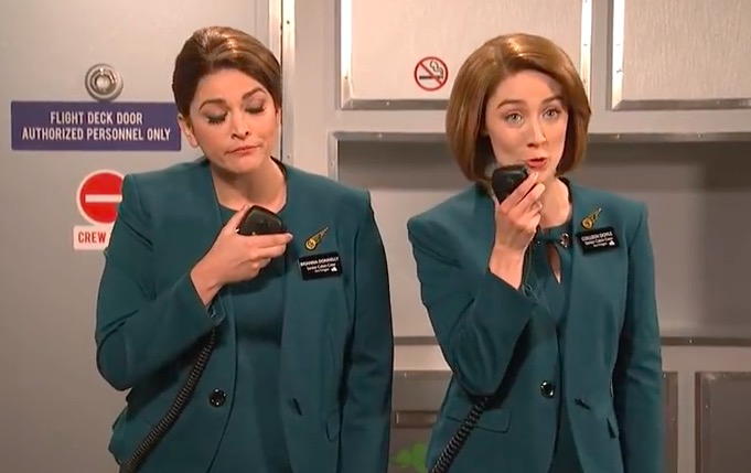 snl aer lingus sketch - SNL Aer Lingus sketch: Video