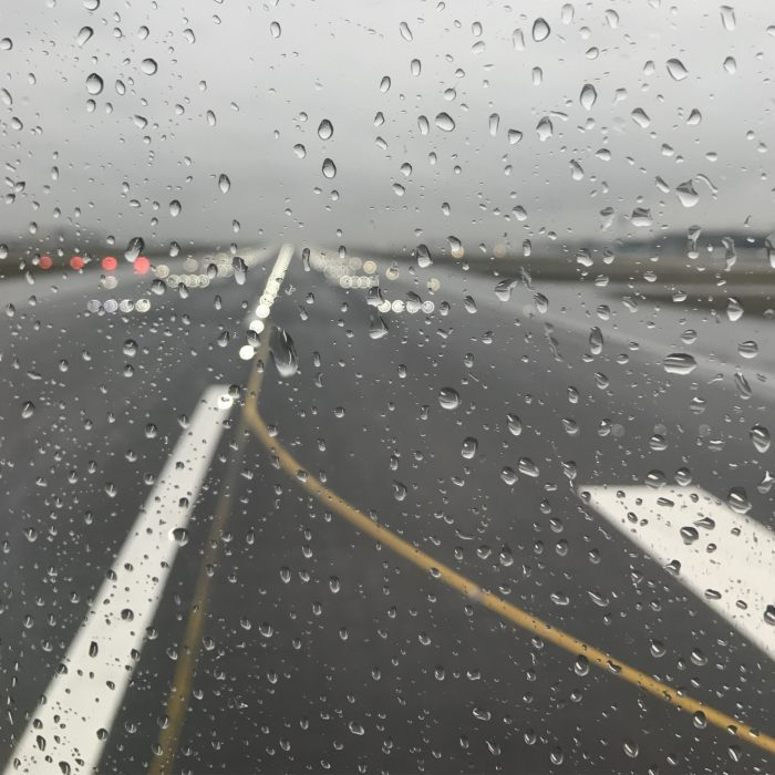rain london heathrow 700x700 - American Airlines Business Class Boeing 777-200 London Heathrow LHR to Los Angeles LAX review