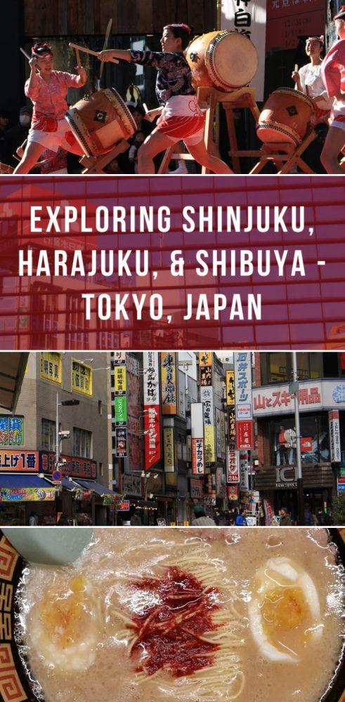 exploring shinjuku harajuku shibuya tokyo japan 491x1000 - Exploring Shinjuku, Harajuku, & Shibuya + my first Ichiran ramen experience - Tokyo, Japan